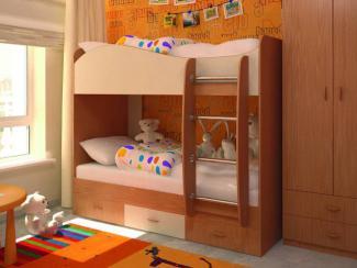 Кровать 2-х ярусная с ящиками - Мебельная фабрика «БиГ»
