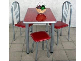 Стол обеденный красный - Мебельная фабрика «Амис мебель»