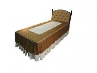 Кровать одинарная Стефани-900 - Мебельная фабрика «Металл конструкция»