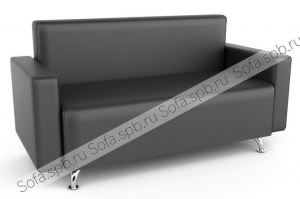 Диван прямой Кофе с подлокотниками - Мебельная фабрика «Софа»