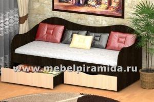 Кровать с ящиками БОКС - Мебельная фабрика «Пирамида»