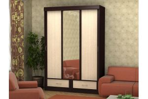 Шкаф-купе Bалерия 1,5 с зеркалом - Мебельная фабрика «Эко»
