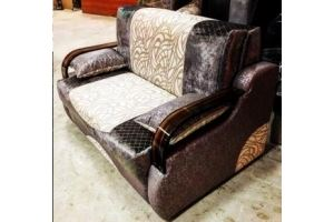 Прямой диван аккордеон - Мебельная фабрика «Лора»