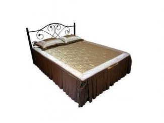 Кровать двойная металлическая Алиса-1600 - Мебельная фабрика «Металл конструкция»