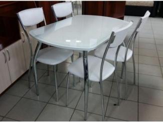 Обеденный стол Прага гнутые ноги - Мебельная фабрика «Milio»