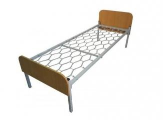Металлическая кровать Студент - Мебельная фабрика «Металл конструкция»