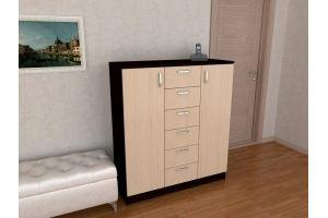 Высокий комод Грация - Мебельная фабрика «Гермес»