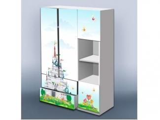 Шкаф в детскую Замок - Мебельная фабрика «Рим»