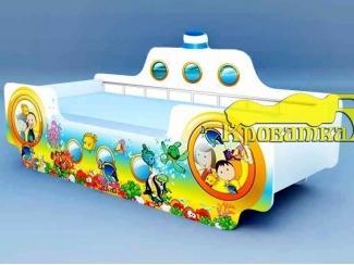 Яркая кровать Кораблик Субмарина - Мебельная фабрика «Рим»
