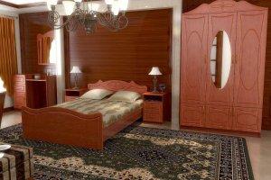 Спальный гарнитур Ангара - Мебельная фабрика «Д.А.Р. Мебель»
