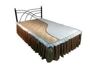Кованная кровать в спальню Илона-1400 - Мебельная фабрика «Металл конструкция»