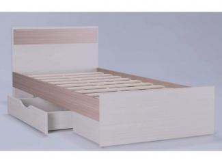Кровать Амели с накладкой и ящиком - Мебельная фабрика «Комодофф»