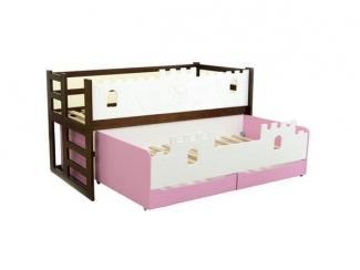Кровать Замок для двух детей - Мебельная фабрика «Новодвинская мебельная фабрика»