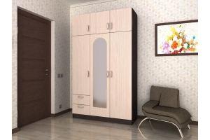 Шкаф распашной 3х створчатый с 2 ящиками №3 - Мебельная фабрика «Гермес»