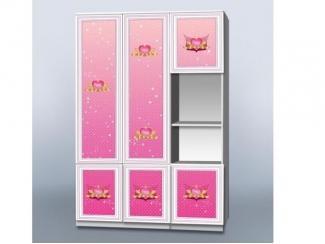 Шкаф в детскую Принцесса - Мебельная фабрика «Рим»