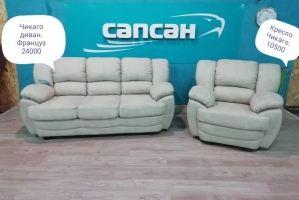 Набор мягкой мебели Чикаго - Мебельная фабрика «Сапсан»