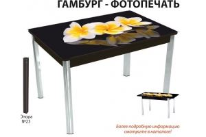Стол обеденный Гамбург фотопечать - Мебельная фабрика «Аврора»