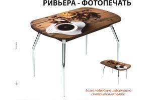 Стол Ривьера фотопечать - Мебельная фабрика «Аврора»