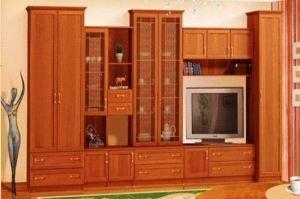 Гостиная Бравия 1 (модульная система) - Мебельная фабрика «Гермес»