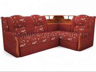Угловой диван Надежда с баром - Мебельная фабрика «Лора»