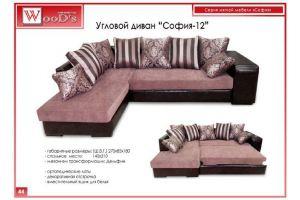 Диван угловой София 12 - Мебельная фабрика «Mebel WooD-s»