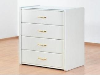 Белый комод Алеро 4 ящика  - Мебельная фабрика «Архитектория»