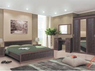 Модульная спальня Венеция (экокожа) - Мебельная фабрика «Зарон»