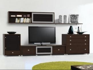 Гостиная стенка Капри 5 - Мебельная фабрика «Стайлинг»