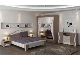 Спальня модульная Верона  ясень шимо - Мебельная фабрика «Линаура»