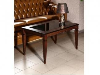 Стол журнальный Васко В 81С темно-коричневый/патина - Мебельная фабрика «Мебелик»