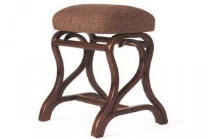 Банкетка Диана темно-коричневый/рогожка коричневая - Мебельная фабрика «Мебелик»