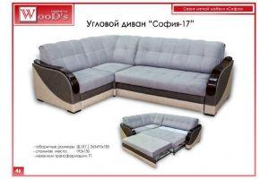 Диван угловой София 17 - Мебельная фабрика «Mebel WooD-s»