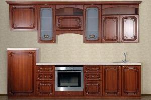 Кухня Изабель Орех L2800 - Мебельная фабрика «Кубань-Мебель»