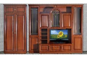 Гостиная стенка Кармен Орех - Мебельная фабрика «Кубань-Мебель»