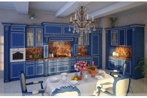Кухня Виктория в дворцовом стиле (за 1 м.п. без учета скидок) - Мебельная фабрика «Бобр»