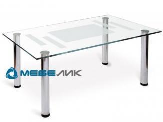 Стол журнальный Робер 10М хром - Мебельная фабрика «Мебелик»