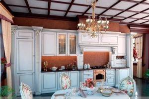 Кухня Джулия в дворцовом стиле (за 1 м.п. без учета скидок) - Мебельная фабрика «Бобр»