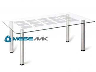 Стол журнальный Робер 11М металлик - Мебельная фабрика «Мебелик»