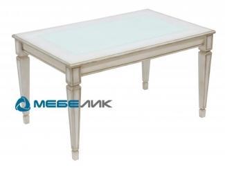 Стол журнальный Васко В 81С белый - Мебельная фабрика «Мебелик»