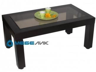 Стол журнальный Сакура 3 эко-кожа венге - Мебельная фабрика «Мебелик»