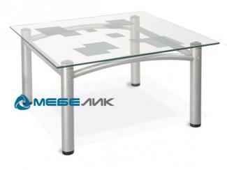 Стол журнальный Робер 2М металлик - Мебельная фабрика «Мебелик»