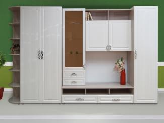Гостиная стенка со шкафом Венеция 2 - Мебельная фабрика «Комодофф»