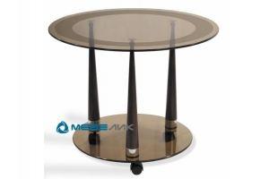 Стол журнальный Квартет 13 махагон - Мебельная фабрика «Мебелик»
