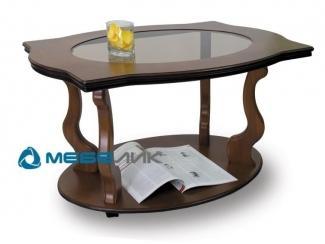 Стол журнальный Берже 3С на колесах - Мебельная фабрика «Мебелик»