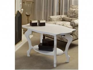 Стол журнальный Берже 1 слоновая кость - Мебельная фабрика «Мебелик»