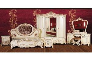 Модульная спальня Элиза Слоновая Кость - Мебельная фабрика «Кубань-Мебель»