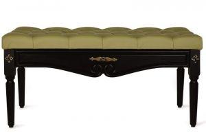 Банкетка Сильвия эко-кожа оливковый - Мебельная фабрика «Мебелик»