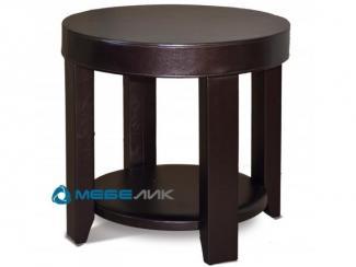 Стол журнальный Сакура 1 эко-кожа венге - Мебельная фабрика «Мебелик»