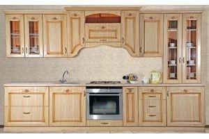 Кухня Сабрина L3200 Крем - Мебельная фабрика «Кубань-Мебель»