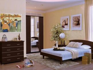 Спальный гарнитур Милан 1 - Мебельная фабрика «Стайлинг»